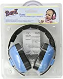Baby Banz Baby-Boys Newborn Hearing Protection Earmuff, Blue, 3 months+, 1-Pack