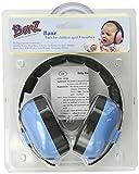 Baby Banz Baby-Boys Newborn Hearing Protection Earmuff, Blue, 0-2 Year