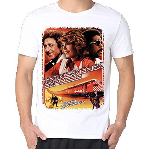 Gene Wilder Silver Streak Men Cotton Short Sleeve Vintage T-shirts Tee