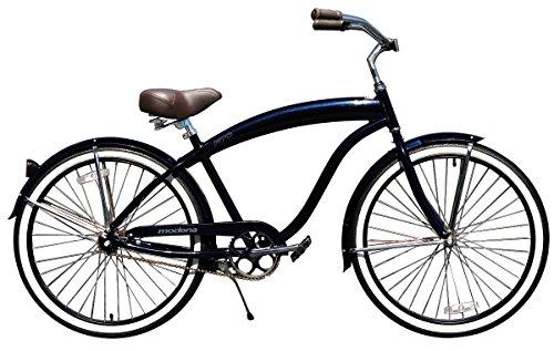 Beach Cruiser Bikes Fito Aluminum Alloy Handle Bar grips Black Fish Skin