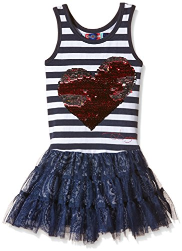 Desigual, OKLAHOMA - Vestido para niñas, color marino, talla 152