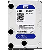 WD Blue 2TB Desktop Hard Disk Drive - SATA 6 Gb/s 64MB Cache 3.5 Inch - WD20EZRZ (Certified Refurbished) (Color: Blue, Tamaño: 2TB)