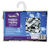 Minky Pebbles Peg Bag FREE DELIVERY