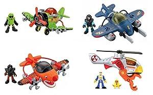 Fisher Price X5253 Small Plane Klein Flugzeug Sortiment [Spielzeug]