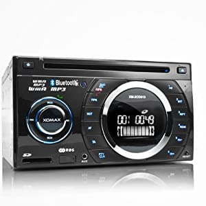 xomax xm 2cdb614 mp3 autoradio mit cd player bluetooth. Black Bedroom Furniture Sets. Home Design Ideas