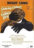 """Sammy Davis """"GOLDEN BOY"""" Charles Strouse / Lee Adams 1964 Broadway Sheet Music"""