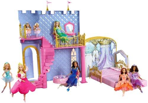 Mattel - Barbie J8916-0 - Märchenschloss mit
