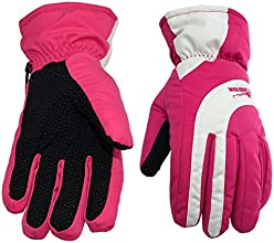 Wowhomeshop Waterproof Wind-resistant Ski Snowboard Gloves Cycling Skidproof Gloves Color-Blocked fo