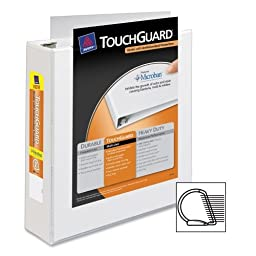 Wholesale CASE of 15 - Avery TouchGuard Binder-Antimicrobial Binders, 3-Ring, Cap 2\