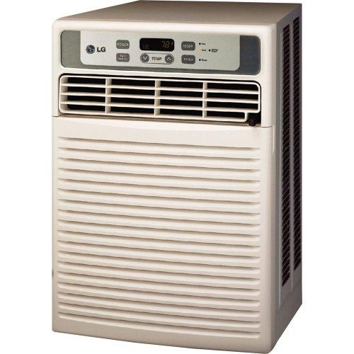 LG LW1012CR 9,800 BTU Casement/Slider Room Air Conditioner with Remote Control (115 volts)
