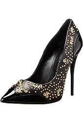Giuseppe Zanotti Women's Applique Pointed-Toe Dress Pump