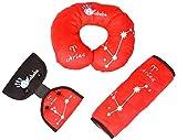 Altabebe AL4011-03 - Set de viaje para niños, color rojo