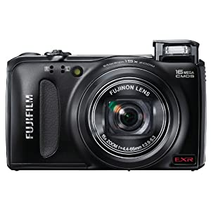 Fujifilm FinePix F505 16 MP CMOS Sensor and 15x Optical Zoom Digital Camera with 4 GB Class 10 SD Memory Card