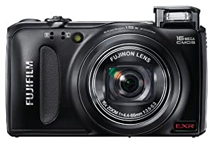 Fujifilm FinePix F505 16 MP CMOS Sensor and 15x Optical Zoom Digital Camera with 4 GB Class 10 SD Memory Card  (Black)