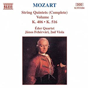 Mozart: String Quintets (Complete), Vol. 2