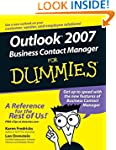 Outlook 2007 Business Contact Manager...