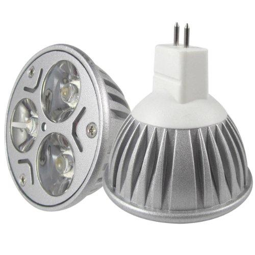 Dele 6X New Led Spotlight Downlight Mr16 Gu5.3 9W 12W 12V Warm Cool White Lamp Bulb (Warm White, 9W Mr16 B)