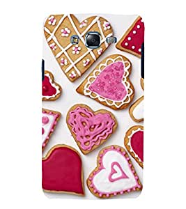 printtech Sweet Heart Cake Love Back Case Cover for Samsung Galaxy J2 / Samsung Galaxy J2 J200F