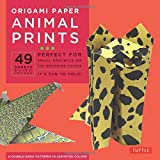 """Origami Paper - Animal Prints - 8 1/4"""" - 49 Sheets: (Tuttle Origami Paper)"""