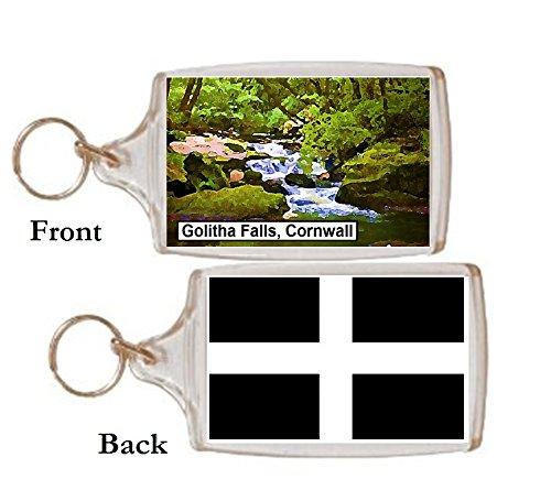 Schlüsselring Golitha Wasserfall Geschenk Tourist Souvenir