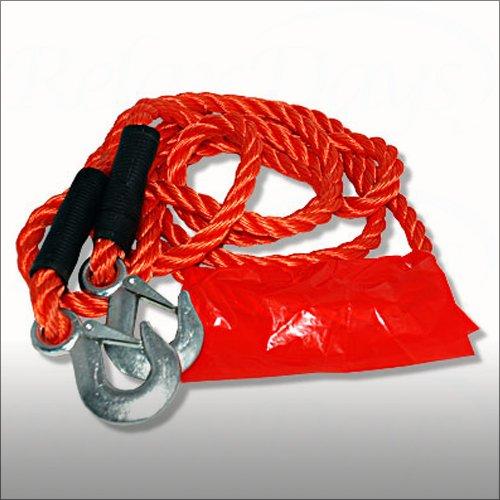 Relaxdays Abschleppseil mit Warnflagge bis 4500kg