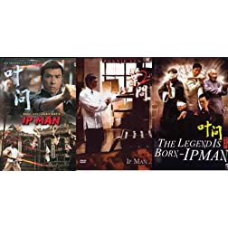 Ip Man Trilology 3 DVD Film set