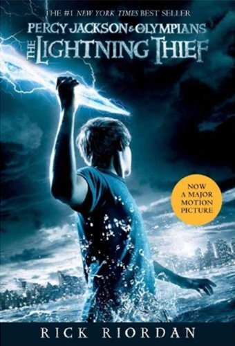 the lightning thief by riodan, rick