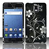 Samsung Infuse 4G Accessory - Night Blossoming Flower & Vines Protective Ha ....