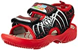 Happy Feet Unisex Spidey Red Sandals and Floaters - 12 Kids UK/India (30 EU) (HF049)