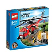 Lego City Fire Helicopter Building Sets