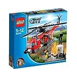 レゴ シティ ファイヤーヘリコプター 60010