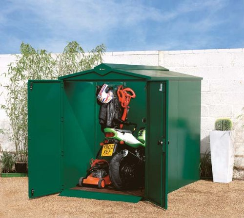 Large Metal Garden Shed 7 x 5 ft (supplied Flat Pack) Suitable for Domestic or Commercial
