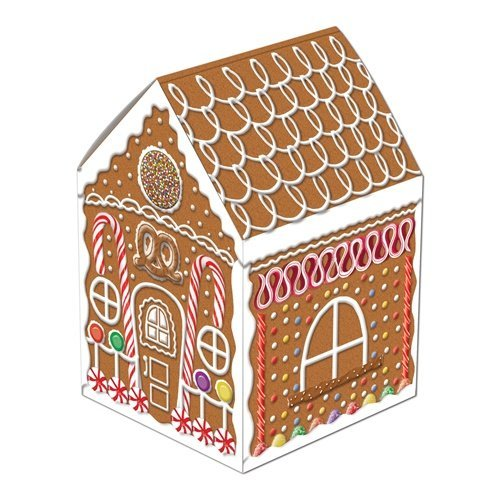 Gingerbread House Centerpiece Party Accessory (1 count) (1/Pkg) - 1