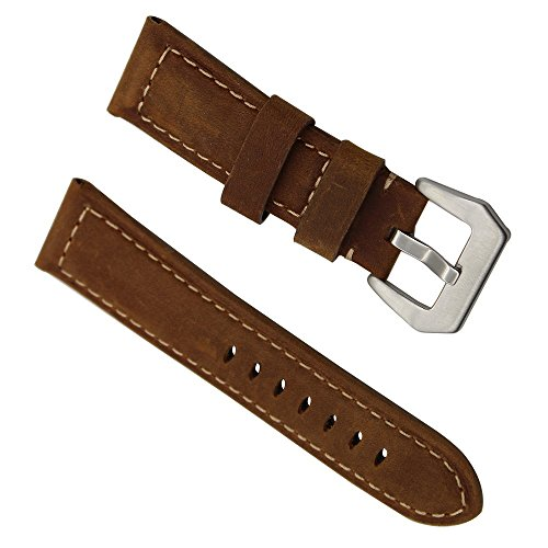 trumirr-24mm-calf-genuine-leather-watch-band-polished-tang-buckle-bracelet-strap-replacement-wrist-b