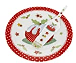 Abigail Mill Festive Cake Plate and S...