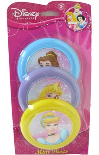 Disney Princess Mini Flying Disc x 3 Pcs