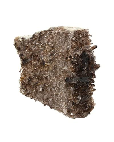 Uptown Down American Smokey Quartz Crystal Cluster, Black