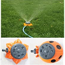 Generic 8 Functions Garden Tool Green Ladybug Shape Sprinkler For Garden Decoration Watering Flowers Plants Or...
