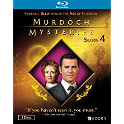 Murdoch Mysteries Season 4 [Blu-ray]
