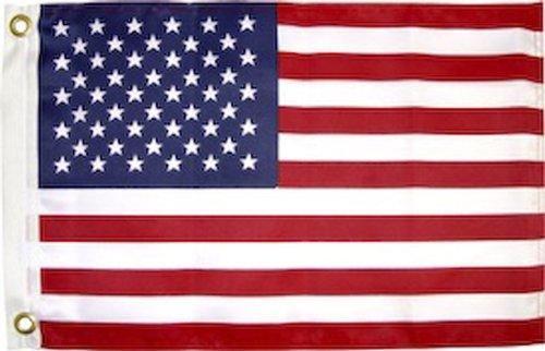 SeaSense Usa Flag, 12-Inch x  18-Inch