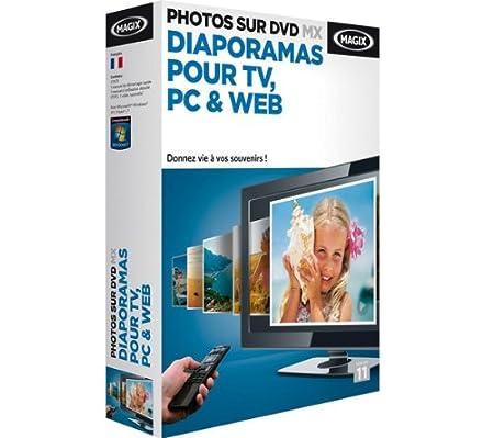 Magix photos sur DVD MX : diaporamas pour TV, PC & web
