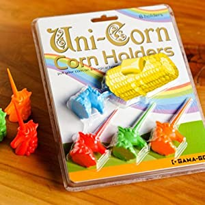Gama-Go Uni-Corn Unicorn Shaped Corn Holders