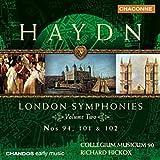 Haydn: Symphonies Londoniennes n° 101, 94 & 102 (Vol.2)