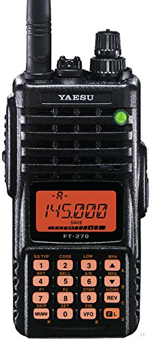 YAESU FT-270R VHF TRANSCEIVER Submersible FT 270R NEW