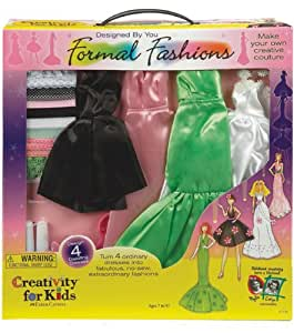 Creativity for Kids: Designed by you formal fashion