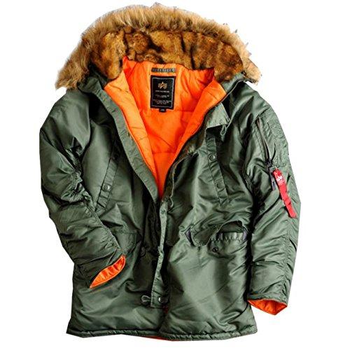 Alpha Ind. Frauen-Jacke N3B VF 59 Wmn – sage-green günstig bestellen
