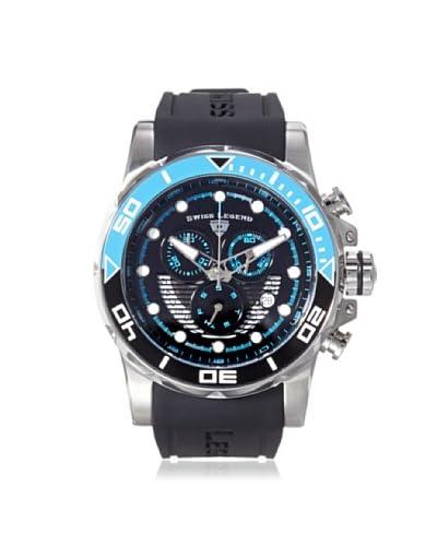 Swiss Legend Men's 21368-01-EBLAB Avalanche Black Silicone Watch