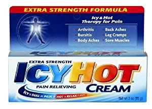 Icy Hot Pain Relieving Cream X-Strength 3 oz.
