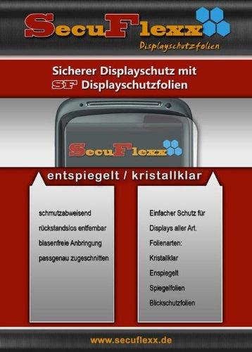 CrystalClear Displayschutzfolie für Prestigio MultiPad 8.0 Pro Duo PMP 5580C_Duo