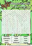 Animaux de la forêt tropicale Par Sarah Wordsearch Edwards Format A4...